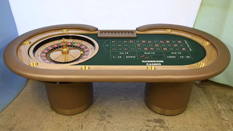 Roulette Table Setup