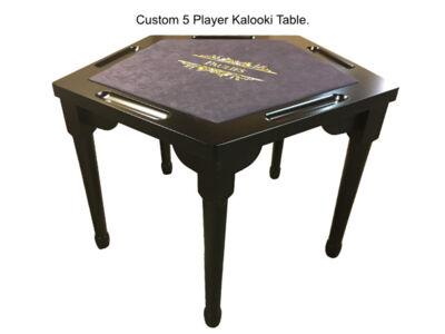 Custom-5-Player-Kalooki-Table