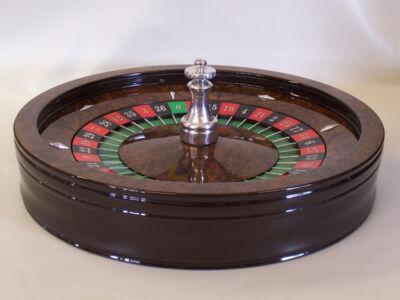 Custom-Veneer-Roulette-Wheel