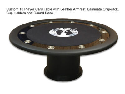 Custom-Ten-Player-Card-Table