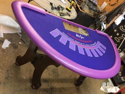 Custom-Blackjack-Table